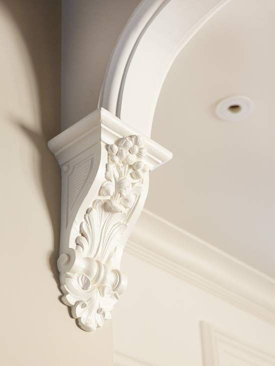 Best 25 decorative trim ideas on pinterest diy 2 panel for Decorative archway mouldings