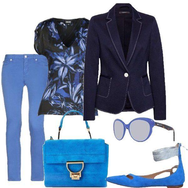 separation shoes 8f592 225ea BLU E BLU - I pantaloni Love Moschino, la borsa a mano, le ...