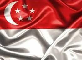 Resultado de imagem para singapura bandeira