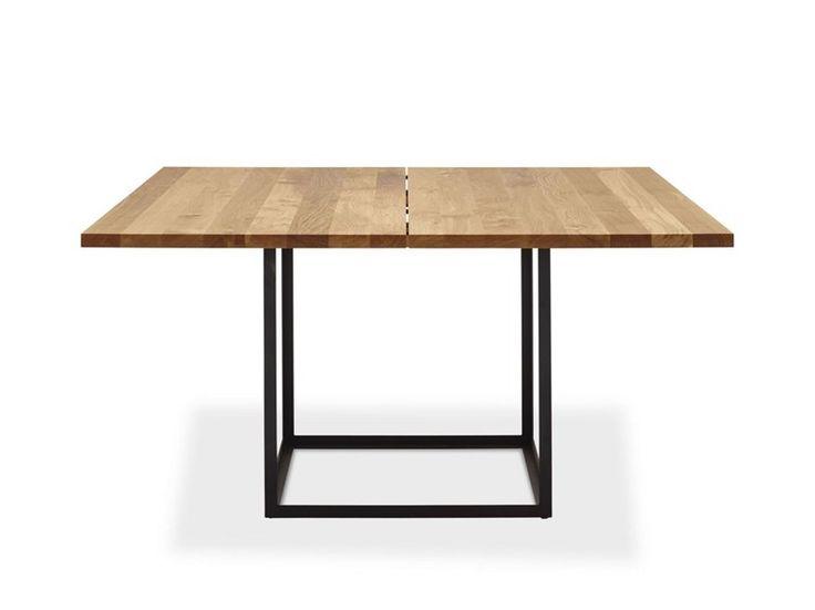 Tavolo allungabile quadrato in rovere JEWEL TABLE | Tavolo quadrato - dk3