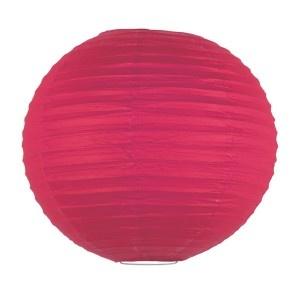 Lanterne chinoise - 35cm - Rouge joyeux