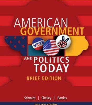 Cengage Advantage Books: American Government and Politics Today, Brief Edition, 2014-2015 (with CourseMate Printed Access Card) PDF