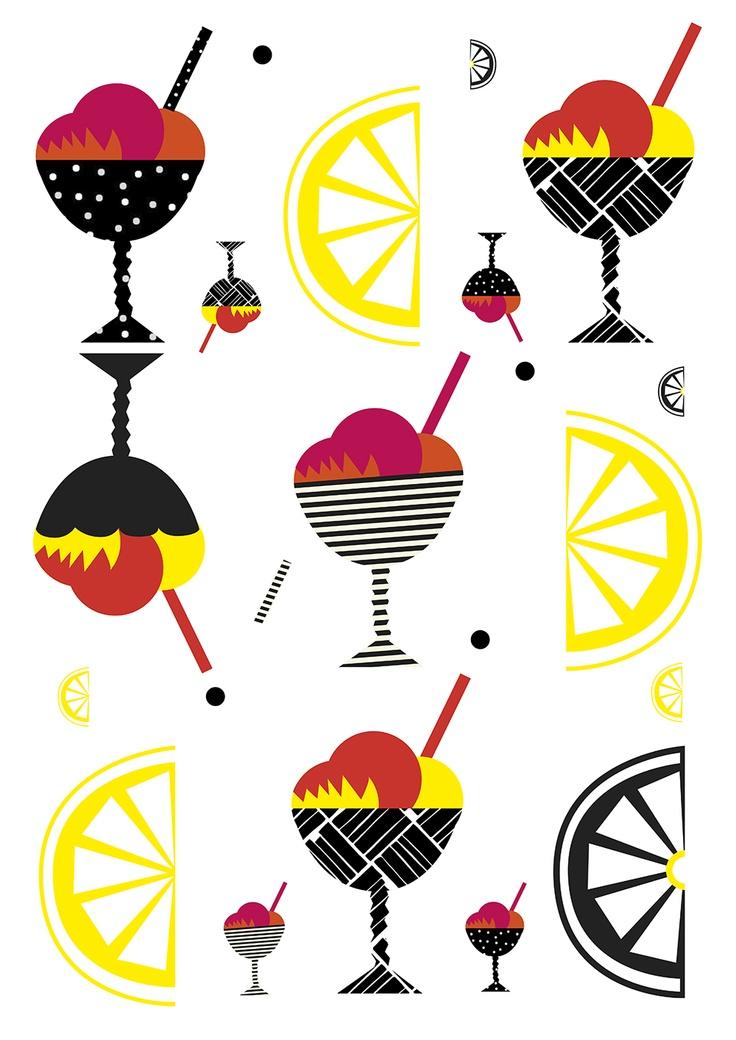 By Sofia Langenskiöld. Illustration inspired by Marimekko.