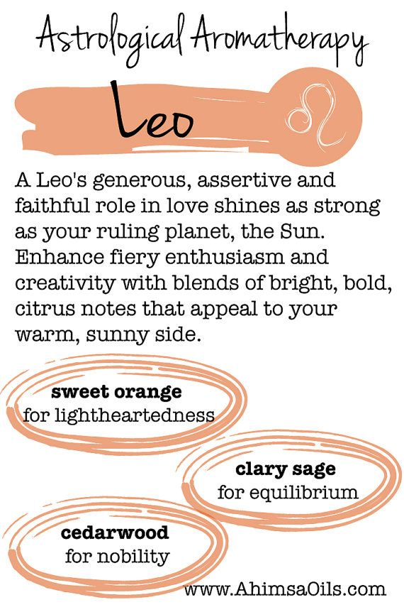 Leo Astrological Aromatherapy Hand and Body Lotion by AhimsaOils