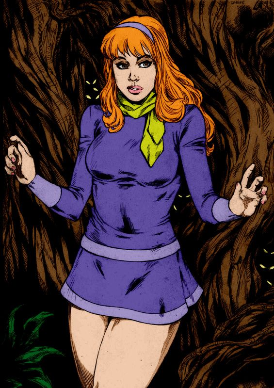 72 best daphne images on pinterest scooby doo scoubidou and daphne blake - Scooby doo daphne ...