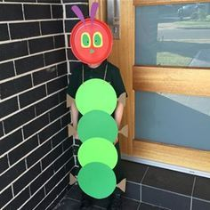 This VERY hungry caterpillar. | 19 Parents Who Completely Nailed Book Week Costumes