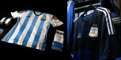 Official Argentina  Soccer Uniform..