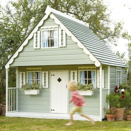 44 best playhouse ideas images on pinterest for Boys outdoor playhouse