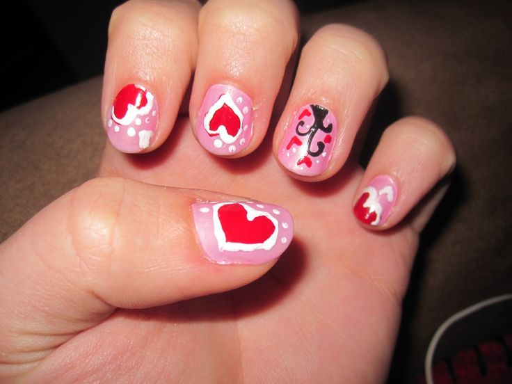 Nail Polish Design Ideas 25 best ideas about pink nail designs on pinterest pink nails acrylic nail designs and glitter nails Nail Polish Designs Interesting