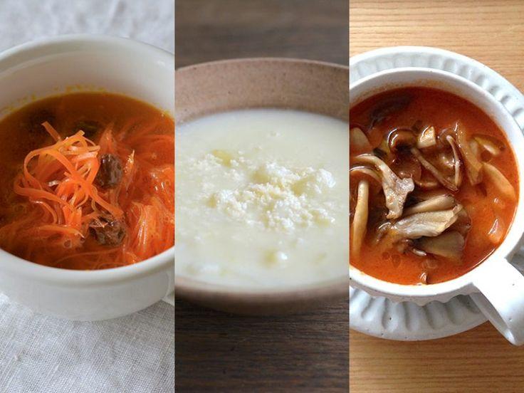 出汁もブイヨンもいらない。野菜の美味しさを再発見するスープレシピ   MYLOHAS