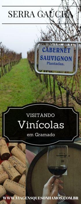 Visitando Vinícolas em Gramado Serra Gaúcha