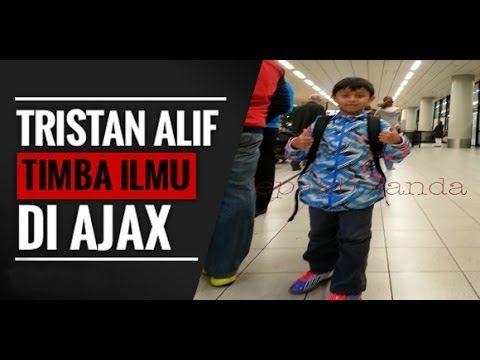 Tristan Alif Naufal Juggling bola di Bandara Schiphol Amsterdam