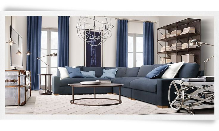 10 Best Images About Restoration Hardware Living Rooms On Pinterest Chairs Clock And