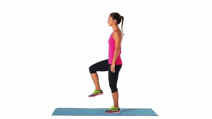 Elevação de joelho : Glúteos, Músculos posteriores da coxa, Quadríceps, Tronco - MSN Saúde e Bem-estar