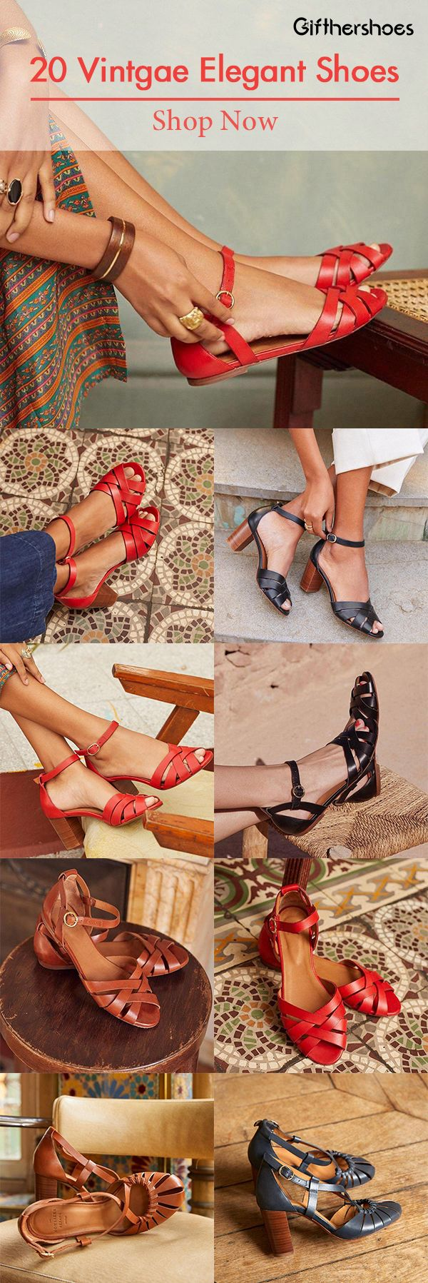 SHOP NOW>>20+ Vintage Elegant Shoes for Your Daily Outfits.Must Have It!