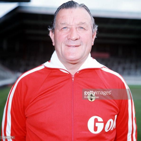 Football Liverpool FC Photocall A portrait of Manager Bob Paisley