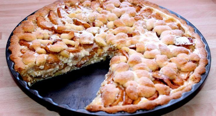 Túrókrémes almás pite recept főfotó