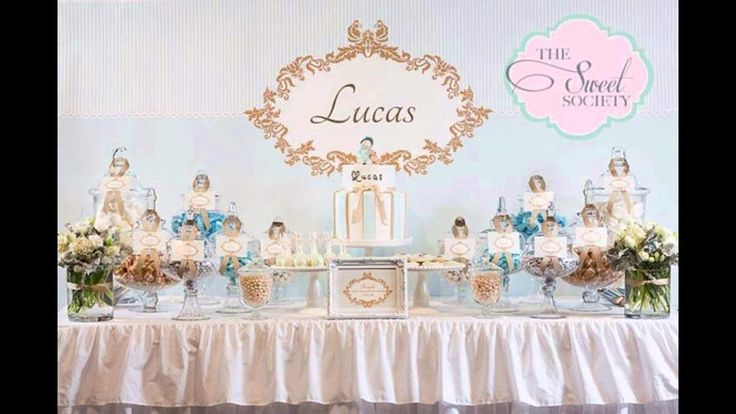 Outstanding Main Baptism Table Decorations At Home : Baptism Party Themes Decorations At Home Ideas