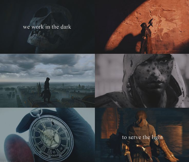 We work in the dark to serve the light. Just something to remind me of the great game :). Assassin's Creed: Unity.   #assassinscreed #acunity #unity #ac #arno #elise #fanart #collage #graphics #graphic #games #blood #blade #canigowithyoufather