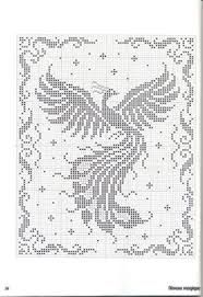 Resultado de imagen para cenefas a crochet con golondrinas