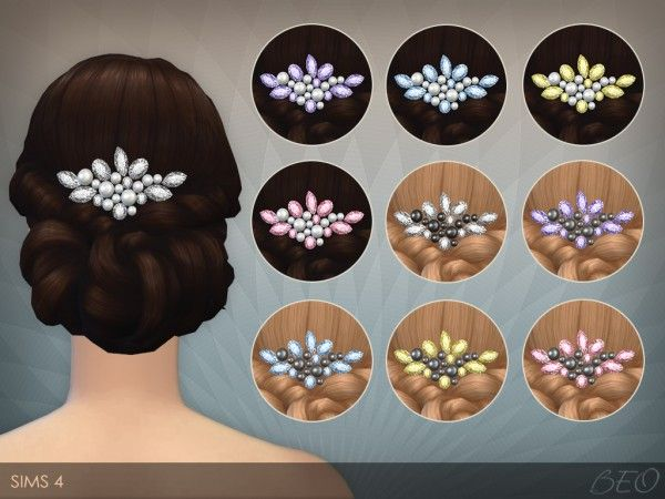 BEO Creations: Pearls and Crystals • Sims 4 Downloads
