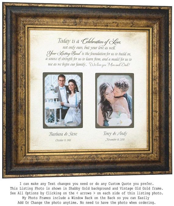 Parent Wedding Gift Mother Of The Groom Gift Mother Of The Bride Gift Wedding Gifts For Parents Parent Wedding Frame Gift Dad Wedding Gift Mom Wedding Gift