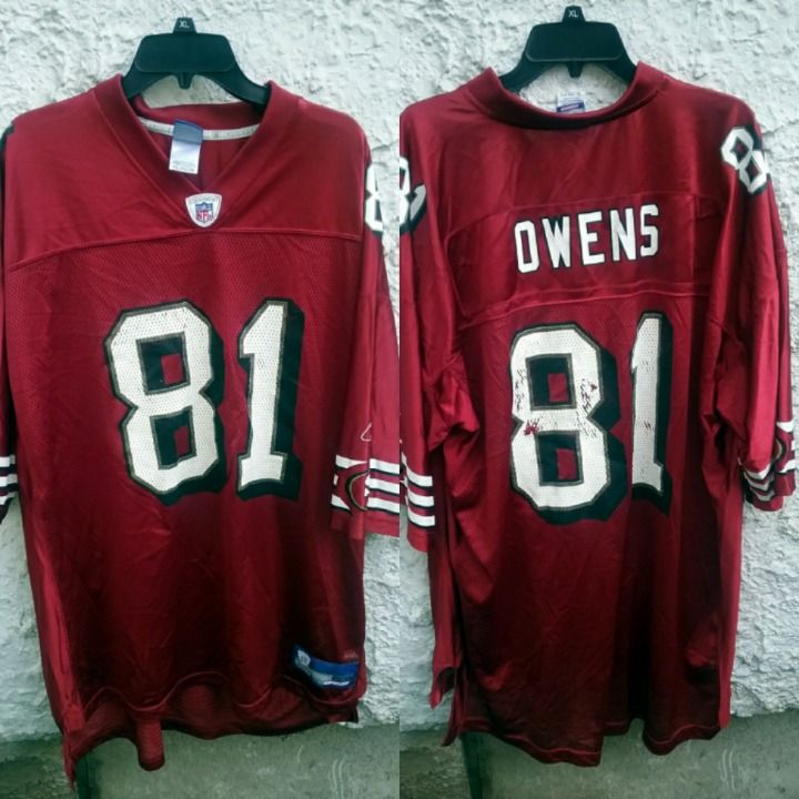best website 6ad85 2a2c1 Cool item: Owens San Francisco 49ers Jersey 2XL | Sports ...