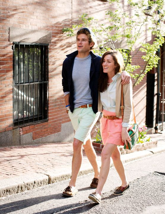 : Sarah Vickers, Preppy Style, Summer Fashion, Power Couple, Boats Shoes, Pretty In Pink, Cute Couple, Preppy Couple, Southern Prep