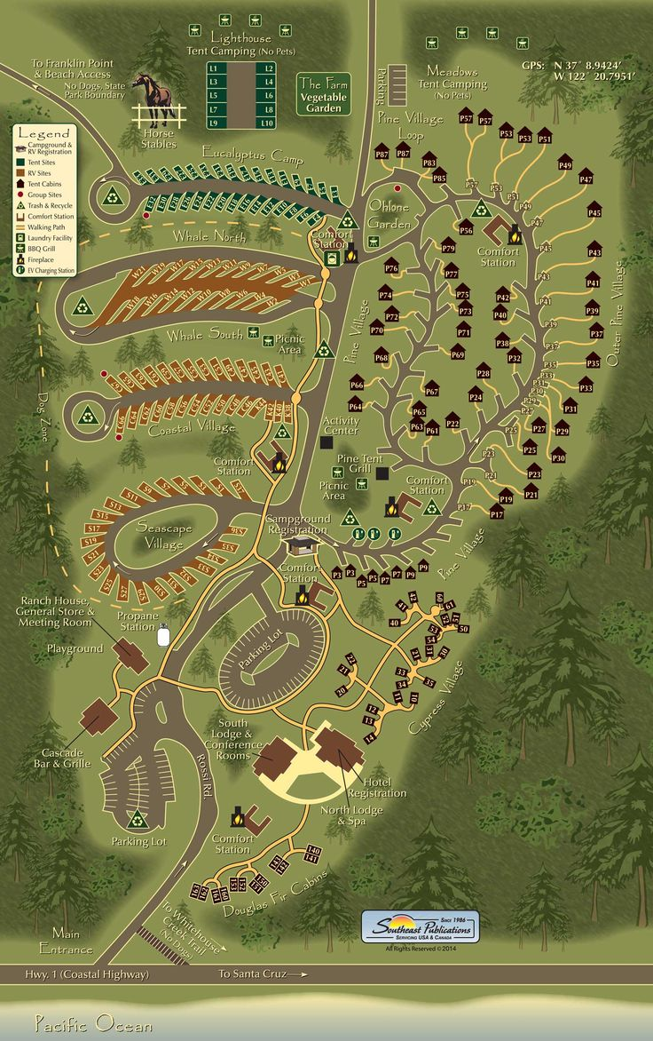 California Map Santa Cruz Picture Ideas References