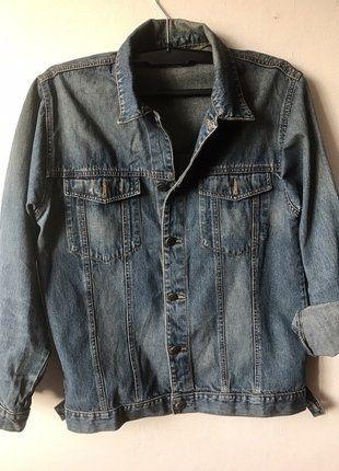 Kup mój przedmiot na #vintedpl http://www.vinted.pl/damska-odziez/marynarki-zakiety-blezery/16468297-jeansowa-katana-oldschool