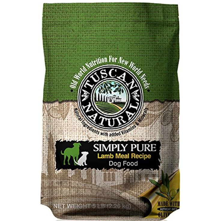 Tuscan Natural Pet Food Simply Pure Lamb Meal Dog Food Recipe, 28.6 lb @@ You could get more details by clicking on the image. (This is an affiliate link and I receive a commission for the sales)