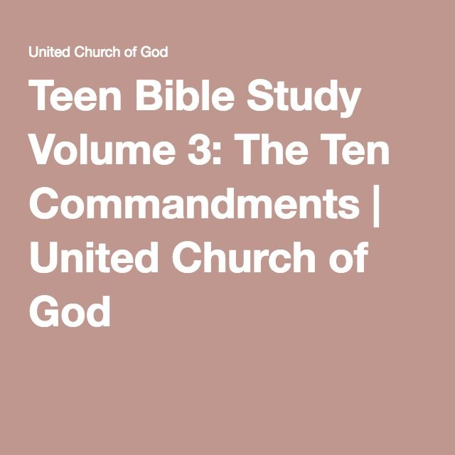 Fun Teen Bible Lessons   Our Everyday Life