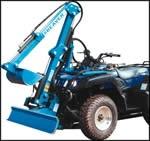 QH50 Excavator - ATV Mount