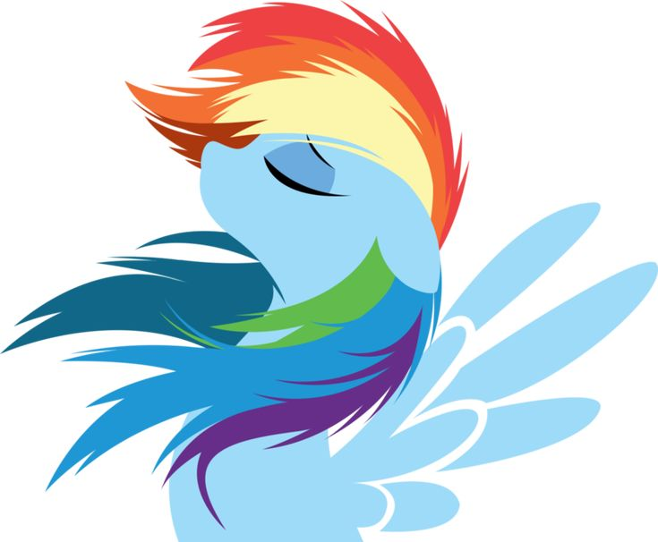 Rainbow Dash by Rariedash #mlp #rainbowdash #fanart