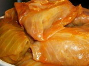 Halupki (Slovak stuffed cabbage). I used to help my Grandma make these for Easter. My Dad's recipe was the best and the one I've pinned here is very similar.