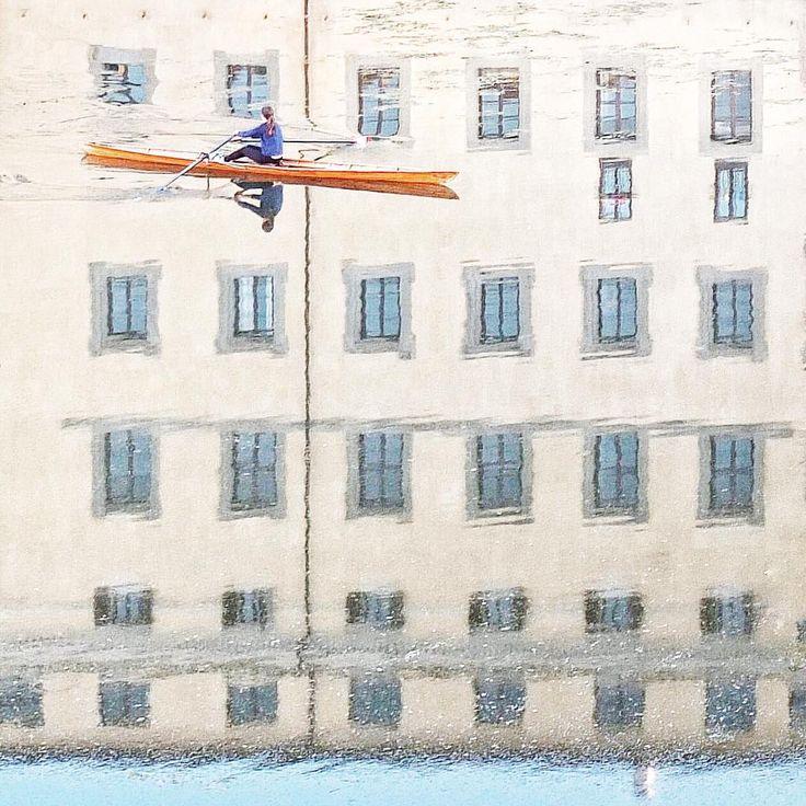 . GNight my IGfriends, ......Florence [ no words  ] . Rio Arno #reflection .