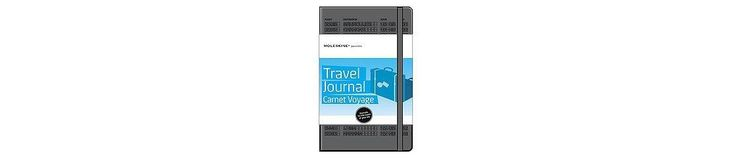 Moleskine Passions Travel Journal Carnet Voyage Black (Notebook / blank book)
