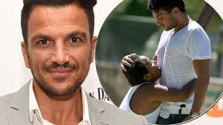 Peter Andre says Katie Prices son Harvey taught him to be a dad