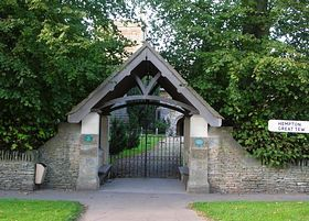 Duns Tew - Entrance to St. Michael and All Angels Great Tew © Jon William Baxter