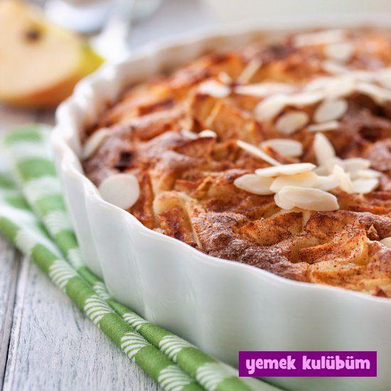 Elmalı Bademli Kek nasıl yapılır, resimli Elmalı Bademli Kek yapımı yapılışı, Elmalı Bademli Kek tarifi, en güzel elmalı ve bademli kek tarifleri burada  #bademlikek #kektarifi #kektarifleri #elmalıkek #elmalıtarifler #bademlitarifler