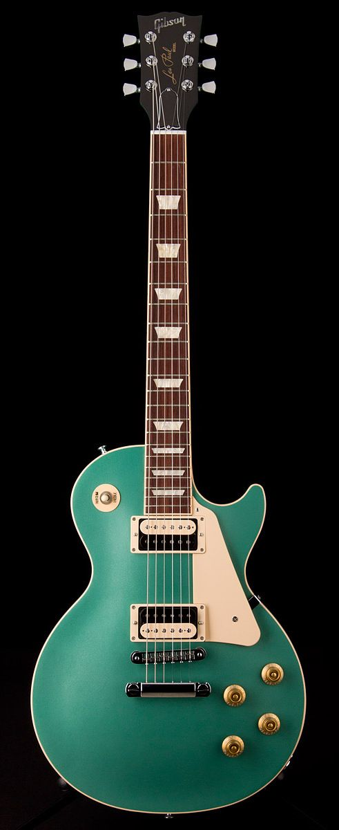 GIBSON Les Paul Traditional Pro II 50's Neck in Inverness Green (P)