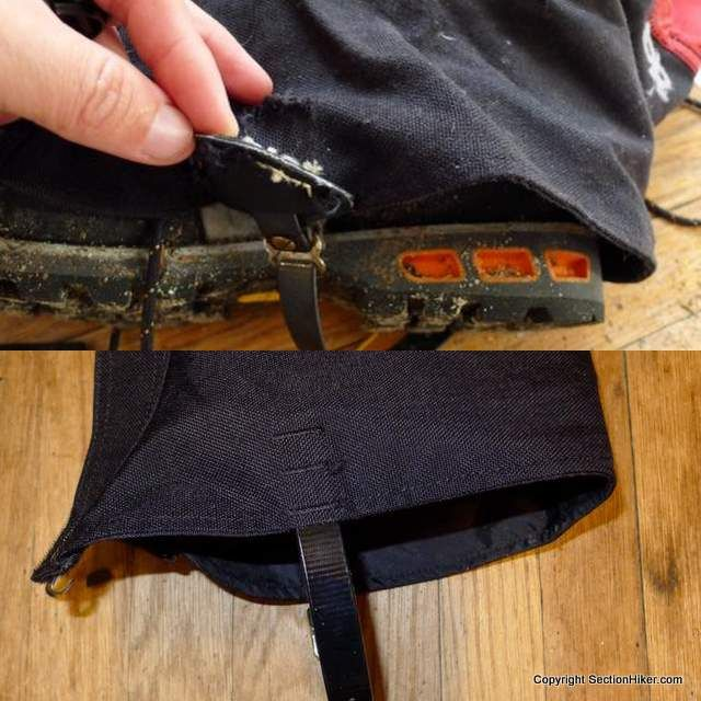 Outdoor Research Crocodile Gaiters - Design Change for Greater Durability