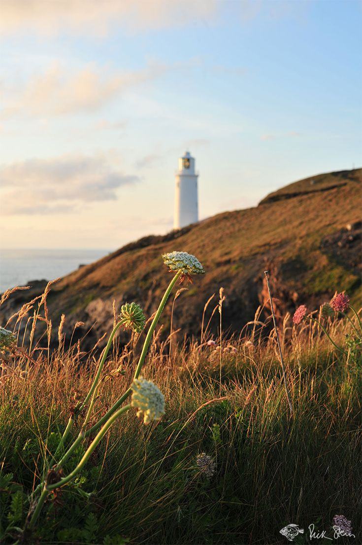 A beautiful evening at Trevose Head