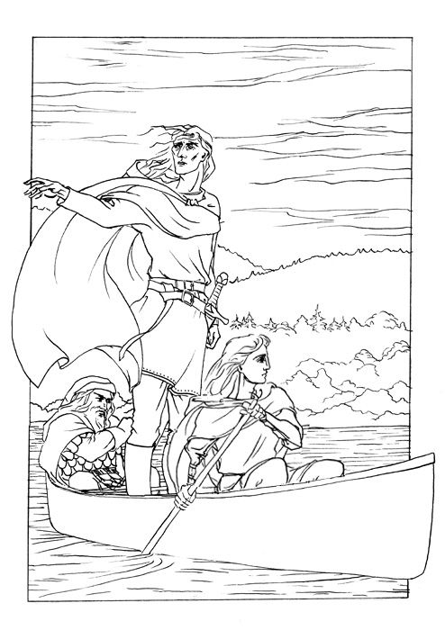 The Departure Of Boromir By DappleHack On DeviantArt