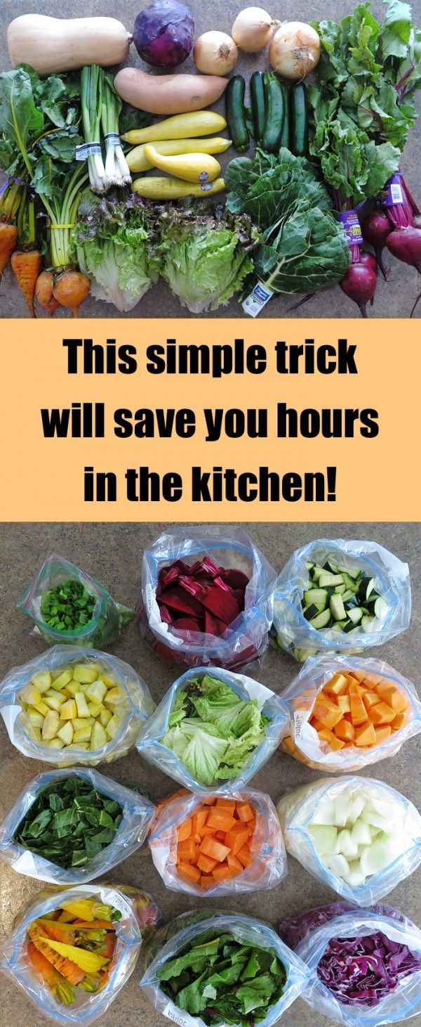 This Simple Trick Will Save You Hours in the Kitchen Later