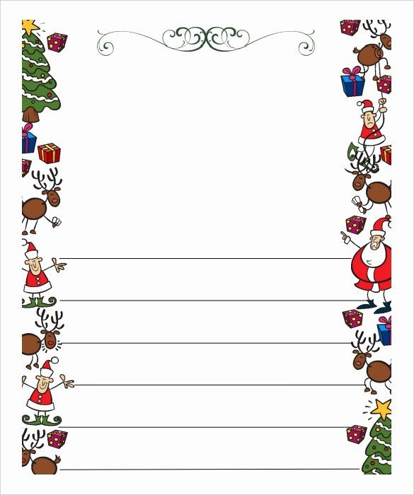 Christmas Letter Template Free Best Of Blank Letter From Santa Template Free Inv Christmas Letter Template Free Christmas Letter Template Santa Letter Template