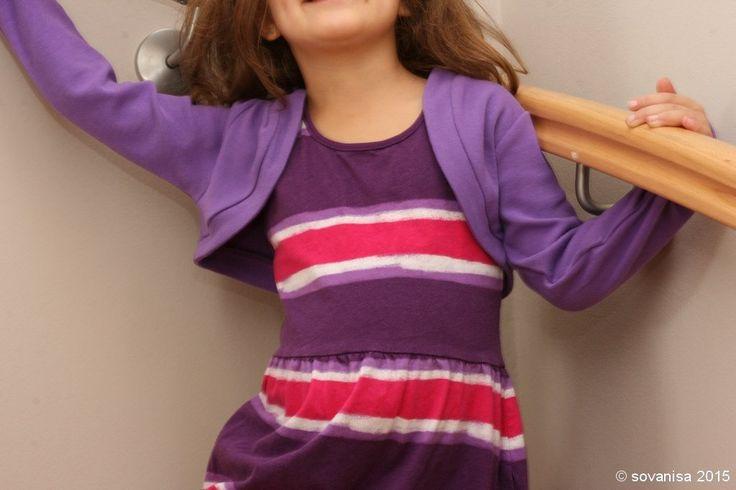 girls knit bolero with FREE Pattern