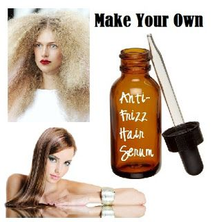 Get The Frizz Out Naturally! Anti Frizz Hair Serum Ingredients 4 ounces