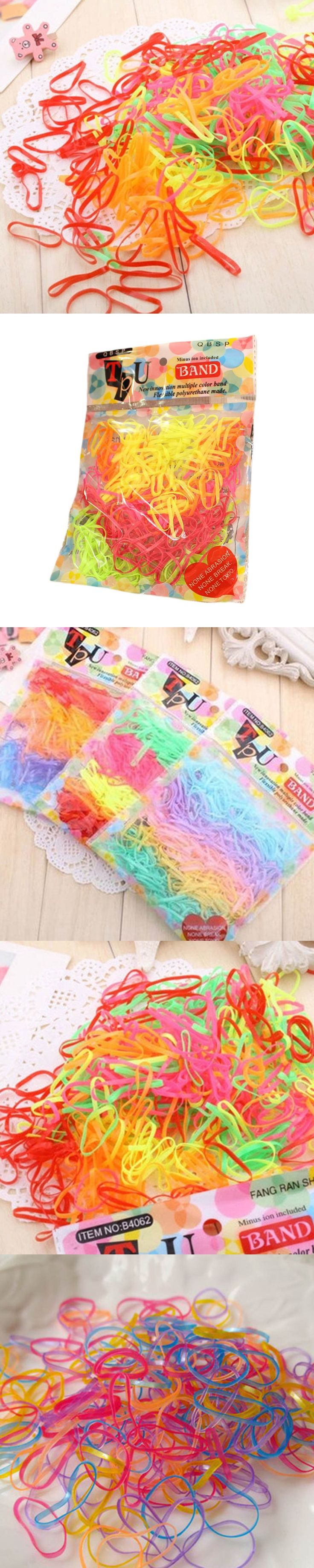 Mix Color 2pcs/Pack Hot-Selling Girls Hair Bands Small Baby Rubber Band Princess Hair Accessories Good Hair Loop Drop Shipping