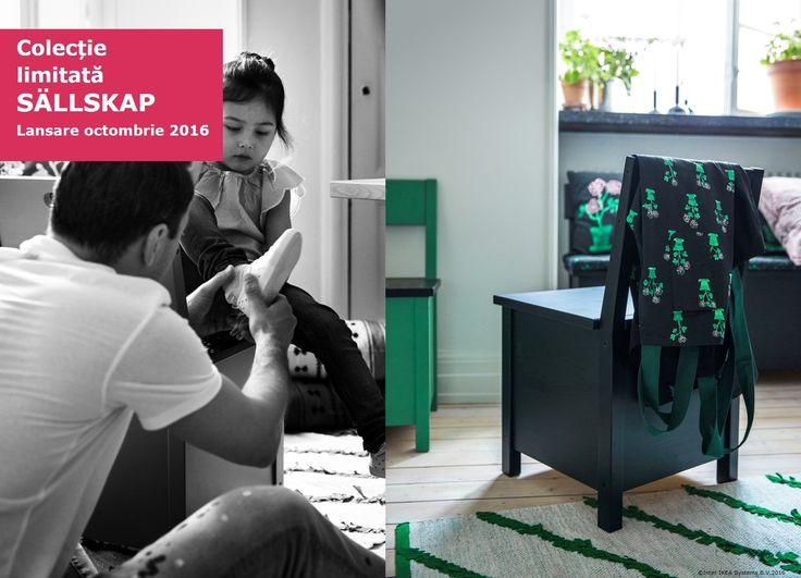 Colecția SÄLLSKAP este inspirată de momentele alături de cei dragi. #colectiilimitateIKEA